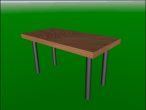 Simple table design