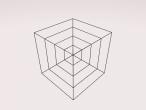 rotating cube frames