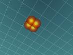3D Model Of Potassium Atom Draft