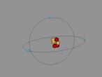 3D Model of Boron Atom