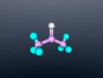Acetone Molecule