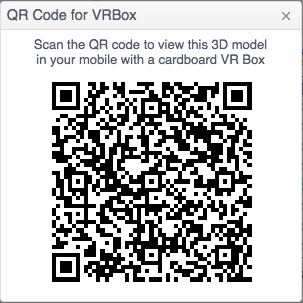 QR Code for VR